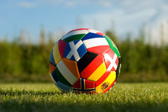 bal足球 免版税库存图片