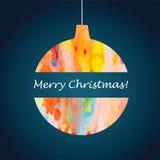 Bal Χριστουγέννων Στοκ εικόνα με δικαίωμα ελεύθερης χρήσης