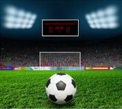 Bal футбола Стоковое Изображение
