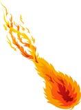 Bal 02 van de brand Royalty-vrije Stock Afbeeldingen