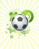 Bal 07 van het voetbal Stock Afbeelding