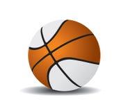 Bal 2 van het basketbal royalty-vrije illustratie