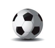 Bal 2 van het voetbal stock illustratie