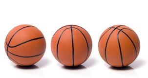 Bal aan het basketbal Stock Foto