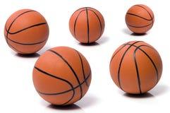 Bal aan het basketbal Royalty-vrije Stock Afbeeldingen