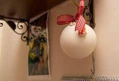 bal białych świąt Fotografia Stock