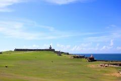 BAL de ³ de Castillo de San Cristà San Juan, Porto Rico images libres de droits