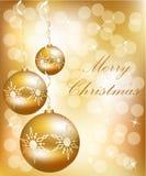 Bal de la Navidad del vector Fotografía de archivo libre de regalías