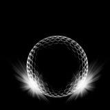 Bal del golf Imágenes de archivo libres de regalías