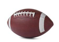 Bal di cuoio di football americano immagine stock libera da diritti