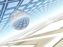 Bal do cristal ilustração do vetor