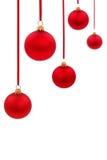 BAL en verre de Noël Images libres de droits