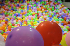 Bal?es coloridos Imagem de Stock