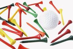 bal golfowe trójniki Obrazy Royalty Free
