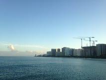 Bal Harbour Beach in Miami. Royalty Free Stock Photos