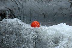 Bal in het water Royalty-vrije Stock Fotografie