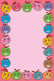 Bal leuk roze kader Royalty-vrije Stock Afbeelding