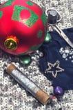 Bal nieuw jaar Royalty-vrije Stock Afbeeldingen
