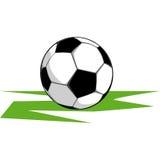 Bal om voetbal te spelen Stock Afbeelding