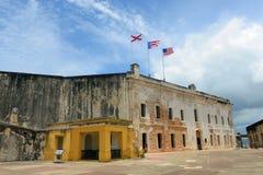 Bal van Castillo DE San Cristà ³, San Juan Royalty-vrije Stock Fotografie