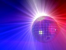 Bal van de disco Stock Fotografie