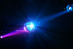 Bal van de disco - Gebied Royalty-vrije Stock Foto