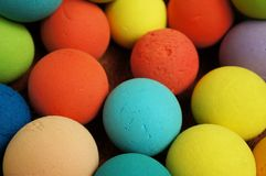 Bal van kleurrijk Stock Foto