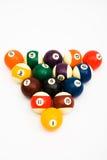 Bal voor spel in biljart Stock Afbeelding