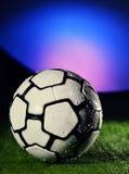 Bal voor voetbal-Voetbal Royalty-vrije Stock Foto
