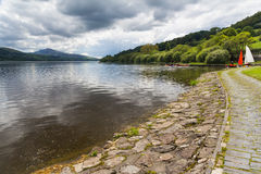 Озеро Уэльс Bala Стоковое Фото