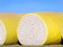 Bala de algodón crudo Imagen de archivo libre de regalías
