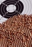 Bala de cobre Fotografia de Stock