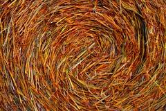 Bala de heno Imagen de archivo libre de regalías