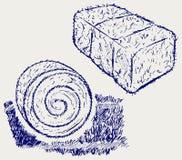 Bala de heno ilustración del vector