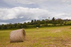 Bala de heno de Vezelayan Fotografía de archivo libre de regalías