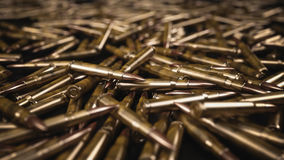 A bala descasca o fundo - ilustração 3D Fotos de Stock Royalty Free