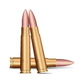 Bala do rifle ilustração stock