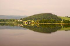 Bala lake tilt and shift A Stock Photos