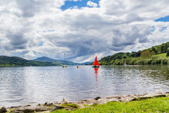 Bala Lake Wales Arkivbild