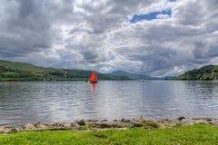Bala Lake Wales. Bala Lake or Llyn Tegid in Welsh is a large lake in Gwynedd, Wales UK Europe Stock Photos