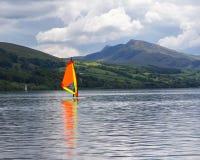 Bala Lake Wales. Bala Lake or Llyn Tegid in Welsh is a large lake in Gwynedd, Wales UK Europe Royalty Free Stock Photo