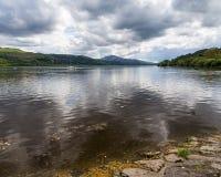 Bala Lake Wales. Bala Lake or Llyn Tegid in Welsh is a large lake in Gwynedd, Wales UK Europe Royalty Free Stock Image