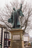 Bala North Wales. The Statue of Thomas Edward Ellis on the high street of Bala in North Wales Royalty Free Stock Photos