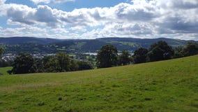 Bala - Wales. Bala Countryside Wales. View overlooking Bala town Royalty Free Stock Photography