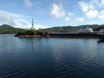 Balacan-Pier stockbild