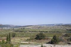 Balaclava area. Crimea, landscape in area of Balaclava Royalty Free Stock Photo