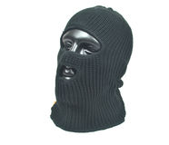 Balaclava black Stock Images