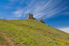 Balaclava Genoese fortress. Goryn landscape Stock Photos