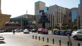 Balad market in Jeddah saudiarab. Balad in the sunlight at 4pm in jeddah saudiarab Royalty Free Stock Images