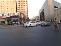 Balad market. Pleasant view in balad market Saudi Arabia Stock Photo